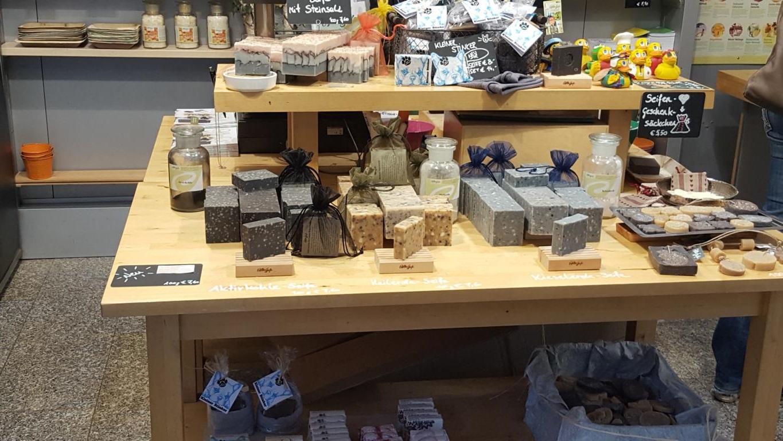 Alles Seife am Naschmarkt