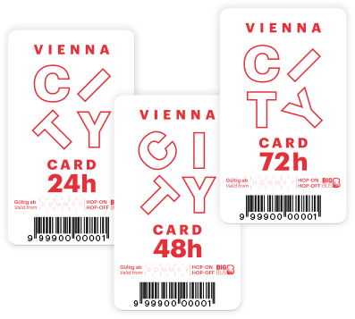 Vienna City Card mit Big Bus Tours