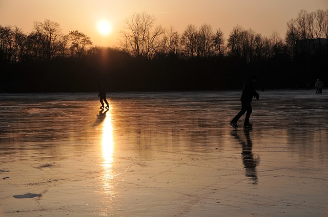 natural ice rinks in Vienna
