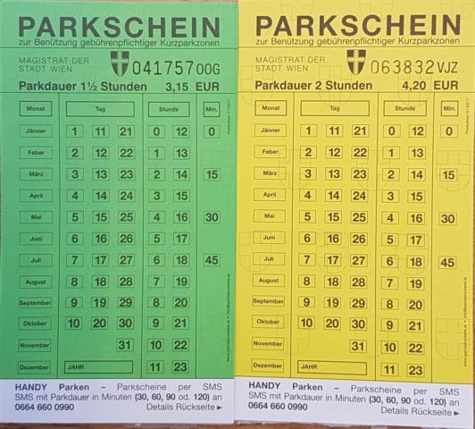 Parken In Wien Kurzparkzonen Garagen Apartmentat