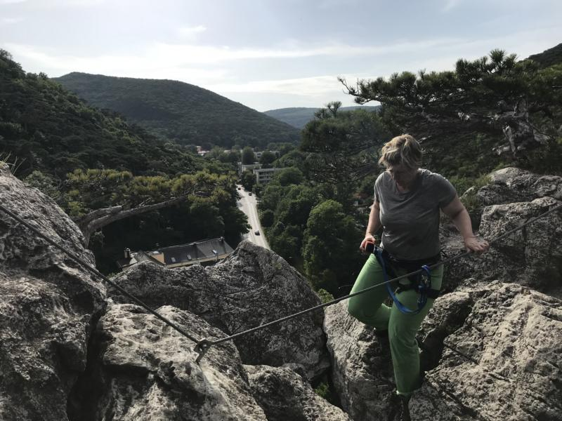 via ferrata - Sonja Franzke