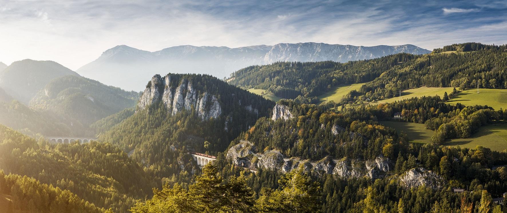Ursprung des Wiener Wassers - Schneeberg und Rax