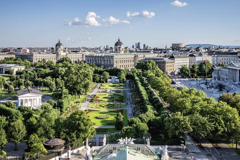 Volksgarten-Museen-Parlament© WienTourismus Christian Stemper