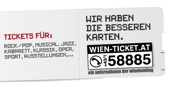 Wien-Ticket - Tickets for Events in Vienna