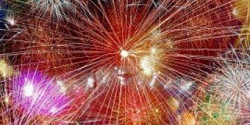 Feuerwerk-Header