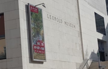 Leopold-Museum-Eingang